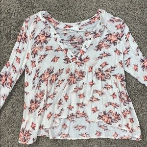 Floral long sleeve top! WTN